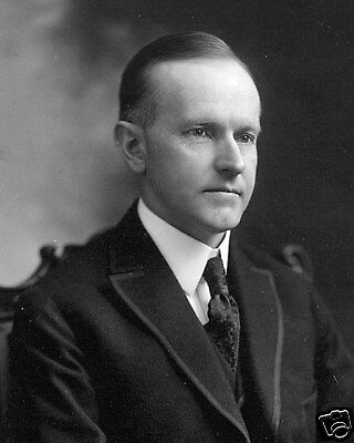 President Calvin Coolidge Portrait 8 x 10 Photograph Photo Picture