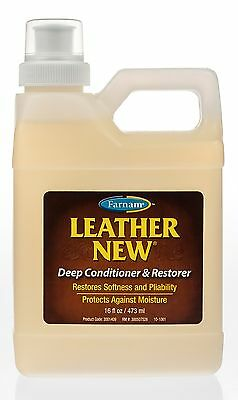Leather New Deep Conditioner and Restorer, 16oz