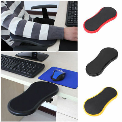Newarrival Desk&chair Attachable Computer Arm Support Mouse Pad Arm Wrist Rest G