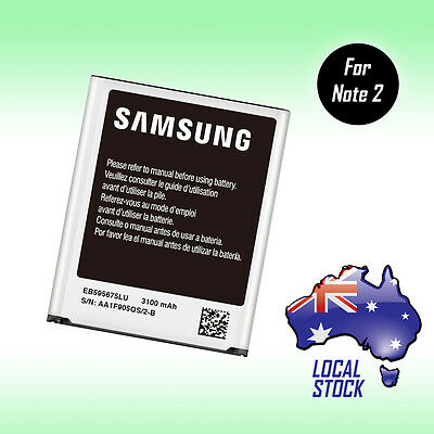 ORIGINAL GENUINE OEM 3100mAh Battery For Samsung Galaxy Note 2 II N7100 N7105