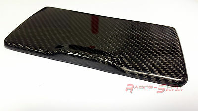 Rare Real Glossy Carbon Fiber Glass Holder Lid Cover Cap For 99-05 Lexus Is Xe10