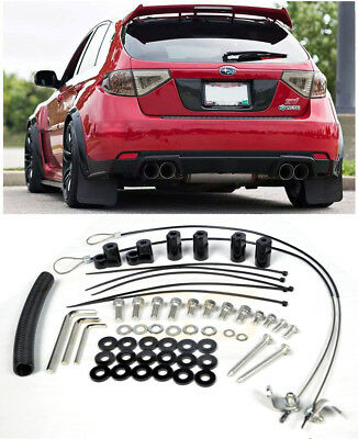 For 08-14 Subaru Impreza STi 11-14 WRX Hatchback 3Dr Rear Wing Spoiler Riser Kit