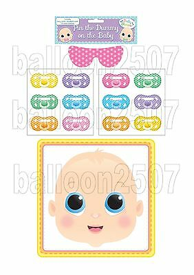 Pin Stick The Dummy On The Baby Party Game Unisex Boy Or Girl  Multiplayer
