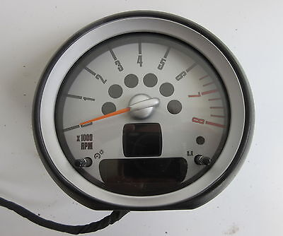 Genuine Used BMW MINI Rev Revolution Counter for R56 R55 R57 R58 R59 - 9201392