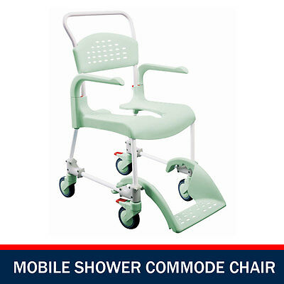 Premium Mobile Shower Commode Chair Transport Chairs Shower Wheelchair - Etac