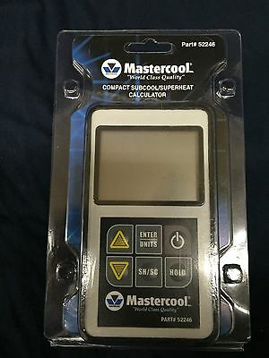 MASTERCOOL COMPACT SUBCOOL/SUPERHEAT CALCULATOR w/ CLAMP 52246