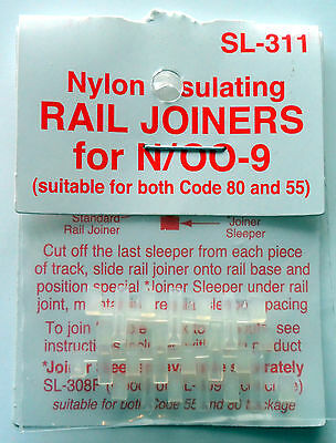 Peco Insulating Rail Joiners SL-311 N Gauge