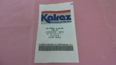 Kalrez AS-568A, K-110, Compound 4079, 3/8 x 9/16 x 3/32 IN, Seal, O-Ring. 328896