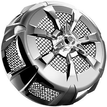 Harley FLHX 06-14Alley Cat Street Sleeper II Air Cleaner Cover Chrome Kuryakyn