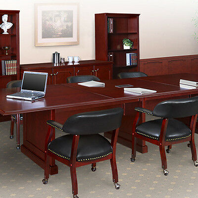 8 - 24 ft TRADITIONAL BOARDROOM TABLE AND CHAIRS SET Conference Room