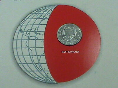 BOTSWANA  1 Thebe  1976  UNC  Coins of all Nations   *perfect  condition*