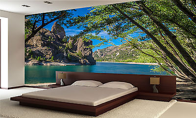 Limay River Wall Mural Photo Wallpaper GIANT DECOR Paper Poster Free Paste