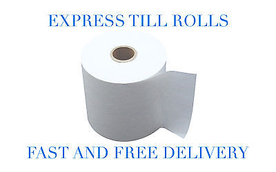 100 Rolls - Ingenico IWL 250 251 252 Thermal Credit Card Receipt Rolls (57x40)