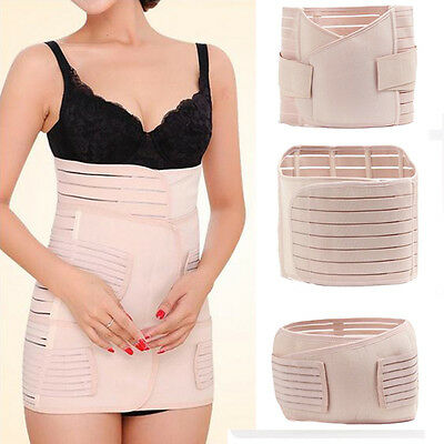 Postpartum Support Recovery Belly/Waist/Pelvis Belt Maternity Slim Band 3 in 1
