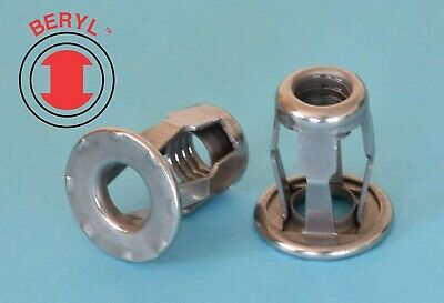 "Stainless Steel Blind Jack Nut - #10-24x0.71"" - 10 Pcs - TJUS03"