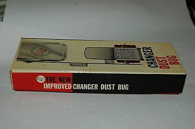 Nos Esl Record Changer Dust Bug! Unused, 1963! Very Unusual Changer Accessory!