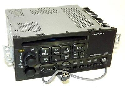 Chevy Lumina 1999 AM FM CD Player Bolt-In Car Radio Upgraded with Aux Input 29