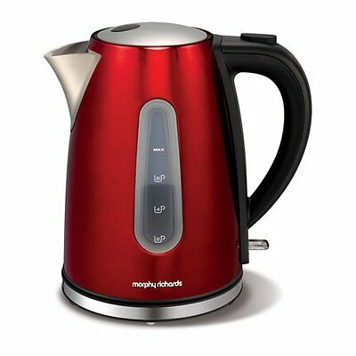 Morphy Richards 43904 Accents 1.5Ltr - 3Kw - Jug Kettle in  Red - Brand New !!!