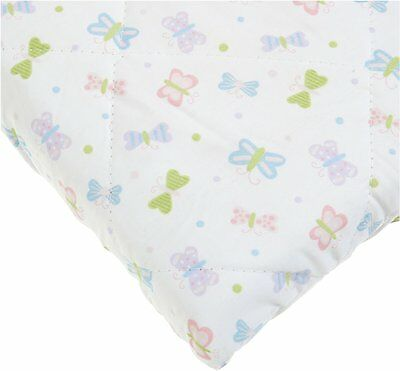 Carters Quilted Woven Playard Fitted Sheet, Butterfly (Discontinued by Manufa...