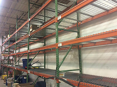 "PALLET RACKING    (Lot #2   12'X24"" UPRIGHT)"