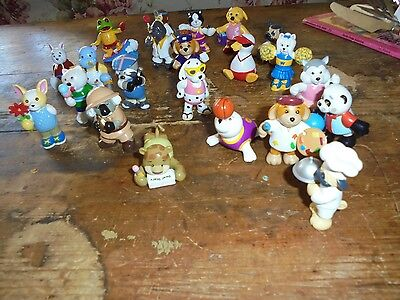 Lot of 20+ Webkinz animals figures toys Ganz dressed like people 2 inch collect
