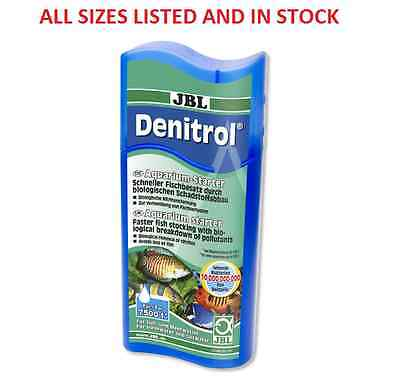 JBL Denitrol 100ml 250ml Fish Tank Filter Start Bacteria Zyme Colony Aquarium