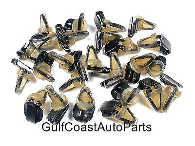 "Ford Door & Trim Panel Clips With Sealer- Qty.25- Fits 5/16"" Hole-#106"