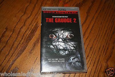 The Grudge 2 Unrated Directors Cut  UMD Video for PSP Brand New