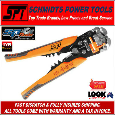 Sp Tools Sp32278 Automatic Wire Strippers, Crimper & Wire Cutter - Brand New