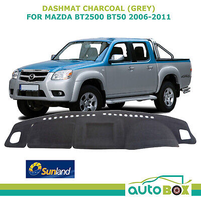 DashMat for Mazda BT2500 2006-2011 Charcoal  Sunland Dash Mat Protection BT50