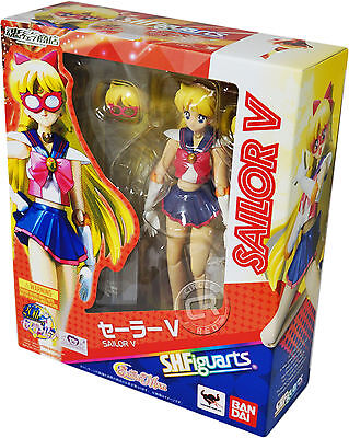 Sailor Moon Sailor V SH Figuarts Action Figure Official Bandai Tamashii Nations