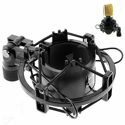 Universal Mic Microphone Shock Mount Clip Holder Studio Sound Recording BM