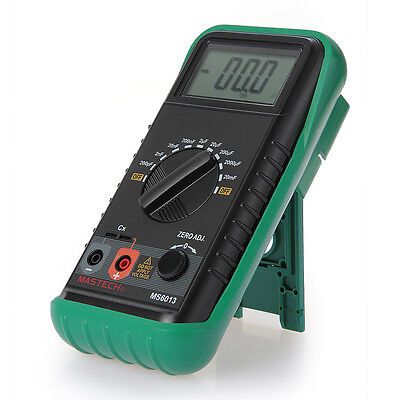 Digital LCD Capacitor Capacitance Tester Meter Test Equipment Portable