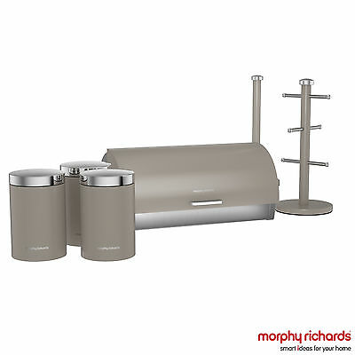 Morphy Richards 974106 Accents Six Piece Storage Set in Barley - BRAND NEW !!!!!