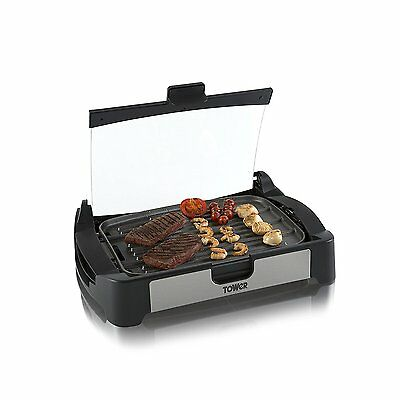 Tower T14009 2-in-1 Health Cerastone Ceramic Grill and Oven Brand New