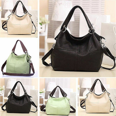 Women Girl Fashion Leather Satchel Handbag Shoulder Tote Messenger Crossbody Bag