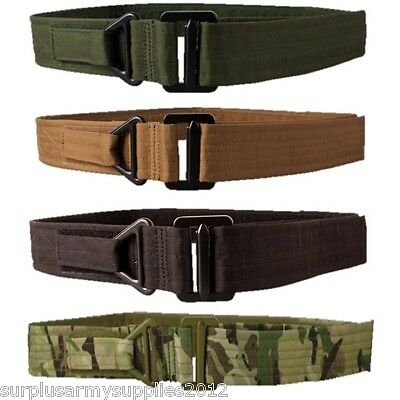 "Military Tactical Rigger Belt Extremely Tough 30"" - 44"" Mtp Btp Mens Army Police"