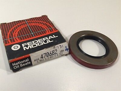 "Federal Mogul 470682 National Oil Seal 1.562""x2.623""x0.312"""