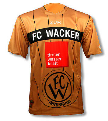 Brand New Genuine Jako FC Wacker Innsbruck 2011/12 Away Shirt  Adults Small