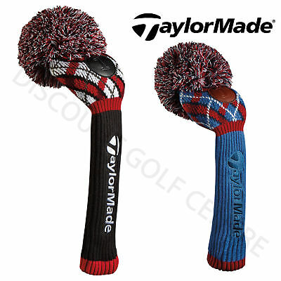TaylorMade Pom Pom Argyle Performance Golf Driver Retro Headcover