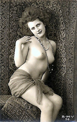 A4 Vintage 1920's Art Deco Pretty Nude Girls ..Victorian/Edwardian Beauties 245