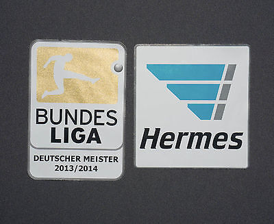 Bundesliga Meister Patch 2014/2015 inkl. Hermes Patch Lextra Logo Badge