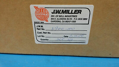 (100 PCS) 5900-100 JW MILLER High Current RF Choke Bobbin Core 10uH 10% AXIAL
