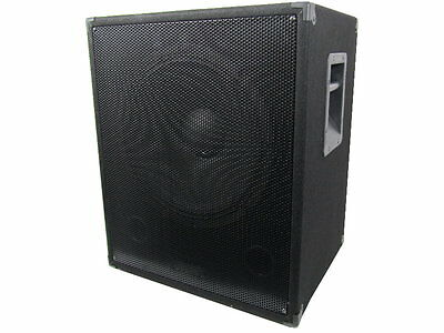 Pa Subwoofer 38 cm  Bass DJ Party Live Musiker Box Lautsprecher 800 Watt 15 Sub