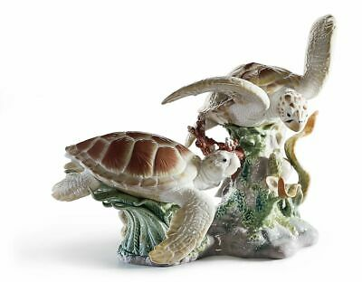 Lladro Huge 01006953  Sea Turtles 6953 Brand New In Manufacturer Box