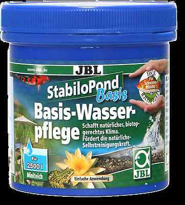 JBL StabiloPond Basis / Basic care product for all garden ponds 1kg, 2,5kg