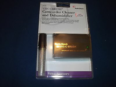 Radioshack Vhs-Cbrush Camcorder Cleaner And Dehumidifier