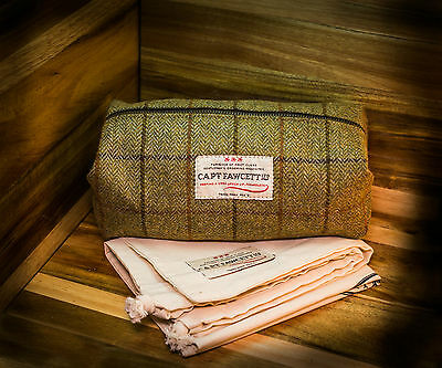 Captain Fawcett Tweed Wash Bag - Kulturbeutel Herren