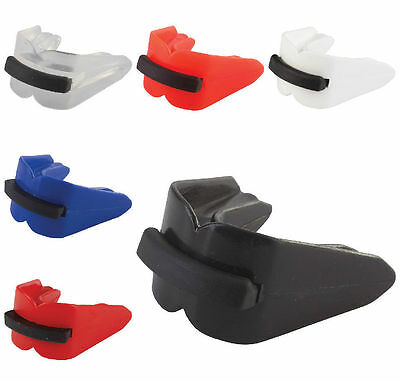 Double Gum Shield Mouth Guard Boxing Mouthguard Adult Rugby MMA BJJ Martial Arts