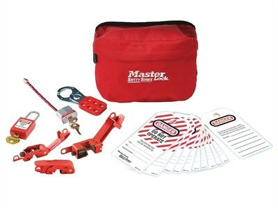 Electrical Lockout Pouch Kit 7-Piece - Lockout / Tagout Products - MLKS1010ES31